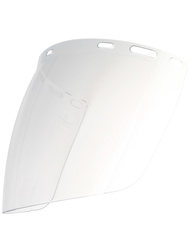 Clear PC visor for FORCECAL or HG930B. (400 x 225 mm).