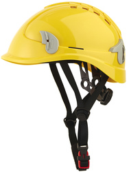 Ventilated helmet for working at height