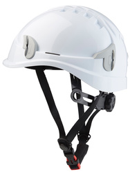 Non ventilated helmet for working at height