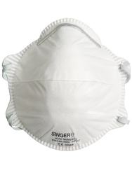 Respirator. FFP2 NR D Standard (+ Dolomite). Box of 20 pieces.