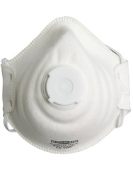 Respirator. FFP1 NR D Comfort with valve(+ Dolomite). Box of 10 pieces.