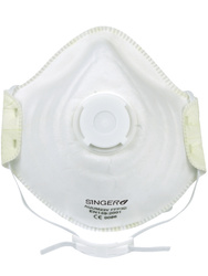 Respirator. FFP3 NR D Comfort with valve(+ Dolomite). Box of 10 pieces.