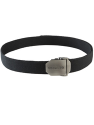 Adjustable textile belt