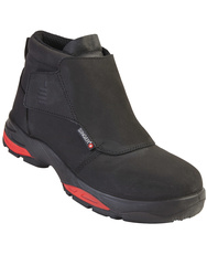 ETNA. S3 HRO SRC. High cut safety shoes.Nubuck leather.