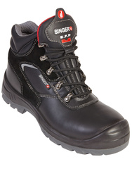 S3 SRC. High cut safety shoes. Grain leather