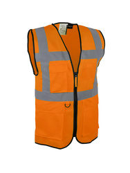 Gilet de signalisation. Polyester. Multi-poches.