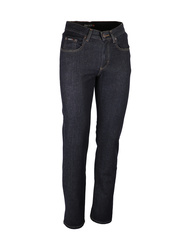 Jeans 100% coton denim 13oz. Coloris bleu.