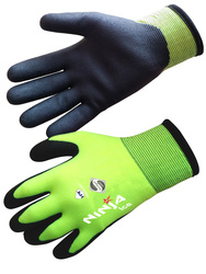 NINJA ICE - Glove against cold high visibility. Double thickness.
